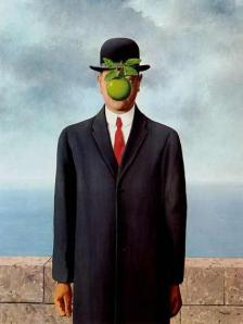 "Magritte's ""The Son Of Man"""